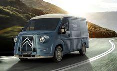 Citroën Jumper Type H : le kit vintage s'invite chez Citroën ! Hy Citroen, Citroen Type H, Luxury Van, Food Truck Design, Mini Camper, Kit, Campervan, Camping, Van Life