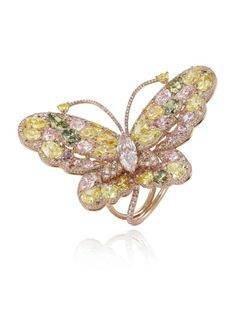 Chopard Red Carpet Collection 2014 Butterfly ring.
