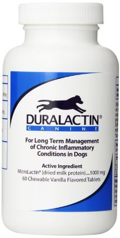 Duralactin Canine, 60 Chewable Tablets * You can get additional details at the image link.
