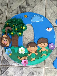 Gaby Encalada's media statistics and analytics Paper Crafts For Kids, Foam Crafts, Bible Activities, Sunday School Crafts, Stage Decorations, Bible Crafts, Adam And Eve, Bible Stories, Bible Lessons