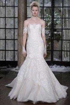 Pin for Later: Die 100 besten Hochzeitskleider der Brautmodenschauen Ines Di Santo Brautmode Herbst 2015