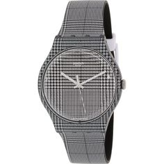 Swatch Men's Originals SUOB113 Black/White Swiss Quartz Watch