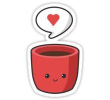 Cute Mug Sticker