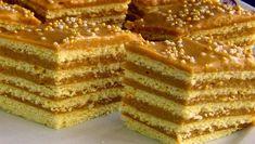 Cremă fiartă cu smântână și nuci - Rețetă de la bunica, un adevărat deliciu! Romanian Desserts, Kiwi, Vanilla Cake, Tiramisu, French Toast, Sweet Treats, Sweets, Cookies, Ethnic Recipes