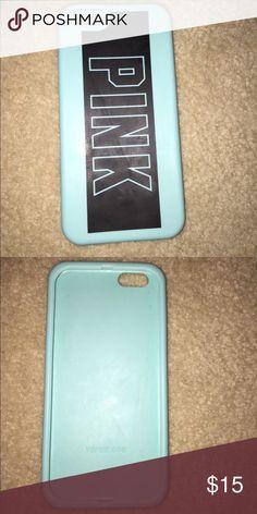 iPhone 6 Victoria's Secret case Never worn. So cute! Rubber feeling and protective! Victoria's Secret Accessories Phone Cases