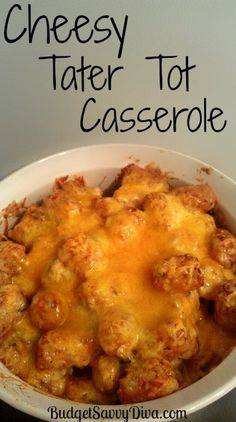 If you like cheese and potatoes --- you are going to LOVE this recipe :)