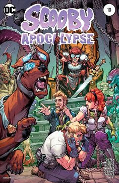 Scooby Apocalypse - Comics by comiXology Comic Book Covers, Comic Books Art, Comic Art, Cartoon Crossovers, Cartoon Characters, Geeks, Scooby Doo Mystery Incorporated, New Scooby Doo, Velma Dinkley