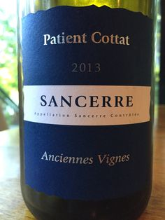 Another LoireValley Wine favorite that I've been buying by the case! Try the 2013 Patient Cottat Sancerre. #wine