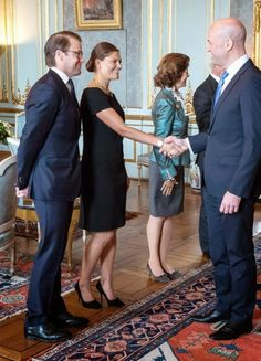 Swedish Royal Family receives audiences at the Royal Palace in Stockholm 10/14/2014