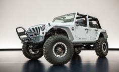 #Jeep and #Mopar Reveal Six New Concepts for This Year's #Moab Easter Jeep Safari