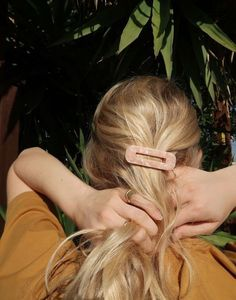 8 Other Reasons Spice Square Hair Clip - hair → - Hair Accessories Hair Inspo, Hair Inspiration, Curly Hair Styles, Natural Hair Styles, Hair Clip Styles, Trending Hairstyles, Hair Accessories For Women, Accessories Shop, Urban Outfitters