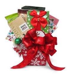 gift wrap bows gift wrapping bows christmas gift baskets christmas desserts christmas ideas christmas gifts christmas decorations basket ideas - Gift Baskets Christmas
