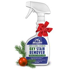 Oxy Stain Remover - 32 Oz. Oxygen Powered Spot Carpet Cleaner - We Make the Best Rated Cleaning Supplies for Your Clean it Kit - Toughest Jobs are Easy Clean Up - Pet Stains and Odors Disappear - Use Convenient Sprayer to Pre Treat Your Worst Spill Spots Before You Use Your Bissell or Hoover Steam Cleaner or Other Cleaning Machines or Just Use it Anytime You Need to Quickly Remove a Carpet, Upholstery, or Laundry Stain