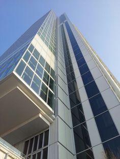 #grattacielo San Paolo a #Torino in c.so Inghilterra opera di #RenzoPiano