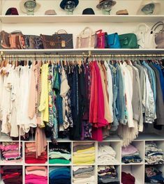 If there's one thing a girl is crazy about, it's her closet and nothing says 'fresh start' like a clean wardrobe, which is why we're going to show you how to organize your closet. After you've gone through the horrible task of parting ways with all the clothes you no longer want or need, you'll …