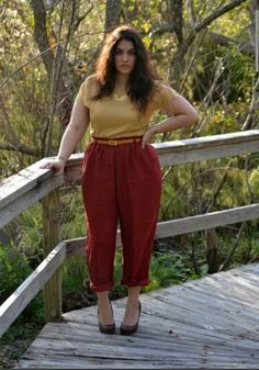 Cute Outfits For Plus Size Women. Graceful Plus Size Fashion Outfit Dresses for Everyday Ideas And Inspiration. Plus Size Refashion. Look Plus Size, Plus Size Pants, Plus Size Dresses, Plus Size Outfits, Curvy Plus Size, Dresses Uk, Fat Fashion, Curvy Girl Fashion, Fashion Outfits