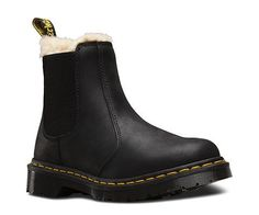 """30 Winter Boots That Are Cute & Practical #refinery29  http://www.refinery29.com/best-winter-boots#slide-12  A """"winterized"""" take on a classic style.Dr. Martens Fur Lined Leonore Wyoming, $140, available at Dr. Martens...."""