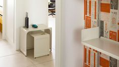 A nesting pair of 621 tables in the hallway. GBP 345 with free delivery
