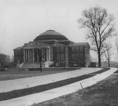 Grawemeyer Hall, University of Louisville, Louisville, Kentucky, 1929. :: Herald-Post Collection