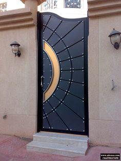 Grill Gate Design, Steel Gate Design, Front Gate Design, Main Gate Design, Door Gate Design, House Gate Design, Wrought Iron Driveway Gates, Metal Gates, Modern Entrance Door