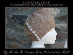 Argyle Lace hat