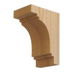 9 1//2 inch x 4.5 x 3.5 WoW! Pair of Wood Corbels,corbel Maple Wood handcraft