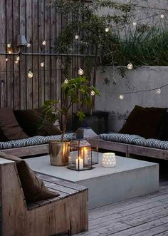 6 ways to make your outdoor space ready for entertaining | Akin Design Studio Blog | Modern Outdoor Seating Area