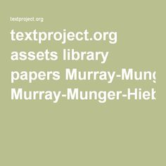 reading research paper textproject.org assets library papers Murray-Munger-Hiebert-earlier-version-of-2014-publication-An-analysis-of-Two-reading-intervention-programs.pdf