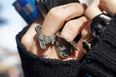Young Hunting Fata Morgana rings