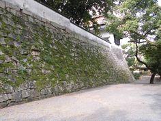 岡山城石垣 2014.09.04