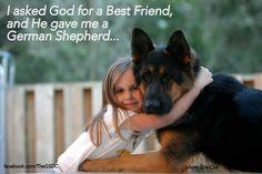#best #friend #german #shepherd