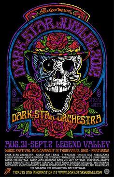 dark star orchestra poster - Google Search