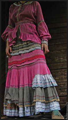 Купить ОДЕЖДА ДЛЯ СВОБОДНЫХ НАТУР - boho, boho style, boho dress, jосенняя одежда