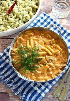 Thai Red Curry, Macaroni And Cheese, Food Porn, Food And Drink, Vegan, Cooking, Ethnic Recipes, Kitchen, Diet