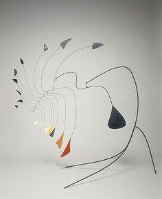 Alexander Calder, Little Spider, ca. 1940, Blech, Draht, Farbe, 111,1 x 127 x 139,7 cm, National Gallery of Art, Washington, Gift of Mr. and Mrs. Klaus G. Perls, © 2013 Calder Foundation, New York / Artists Rights Society (ARS), New York