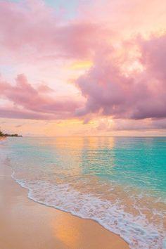 Strand Wallpaper, Ocean Wallpaper, Summer Wallpaper, Cute Wallpaper Backgrounds, Iphone Wallpapers, Phone Backgrounds, Pink Wallpaper Iphone, Pretty Wallpapers For Iphone, Beach Sunset Wallpaper