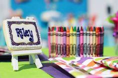 10+ Party Ideas for an Art themed birthday | @kimbyers TheCelebrationShoppe.com