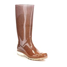 Stylish Women's Rain Boots Water Shoes High Leg With Cute Pattern Tyc018 ** Details can be found by clicking on the image.