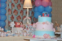 Vintage Shabby Chic Owl Birthday Party Ideas | Photo 3 of 44 | Catch My Party