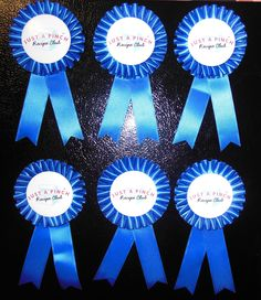 My Blue Ribbons from Just A Pinch  #berryblue