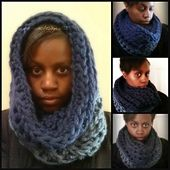 Ravelry: Very Quick Thick and Chunky Cowl pattern by Acquanetta Ferguson