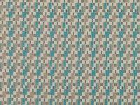 Asha Teal | Orvieto | Small Scale Jacquard Weave | Romo Fabrics | Designer Fabrics & Wallcoverings, Upholstery Fabrics