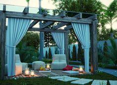 Stunning backyard patio by Valmor Ernesto Bona Jr
