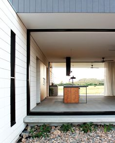 In the North #Queensland town of #Bowen graduate architect @_chloe.naughton_ has designed a low-maintenance home suitable for a retired couple. Read more in the latest issue of @mezzanine_mag or through the link in our bio.  Photo courtesy Chloe Naughton #ausdesignreview #architecture #australianarchitecture #australiandesign #design #interiordesign #interior #home