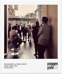 Poggenpohl Park Event  #Poggenpohl #Studio #NewYork #USA