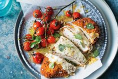 Everybody loves a good schnitzel and this one is not only quick and easy but super tasty. Chicken Meatball Recipes, Grilled Chicken Recipes, Chicken Parmigiana, Cooking A Roast, Tasty, Yummy Food, Delicious Recipes, Pub Food, Bowl Of Soup
