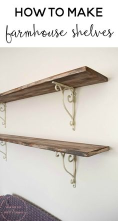 farmhouse shelves |