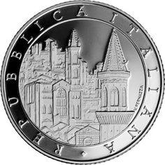 Italy 5 Euro Silver Coin 2015 Perugia - Umbria