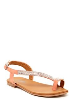 Shoes Of Soul Rhinestone Flat Sandal by Shoes Of Soul on @HauteLook