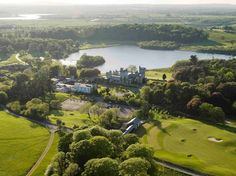 My daughter would LOVE to stay in a castle in Ireland.  You can stay the night at Dromoland Castle.